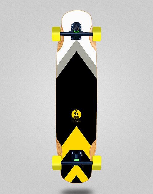 Glutier Barbeito longboard complete 38x8.45