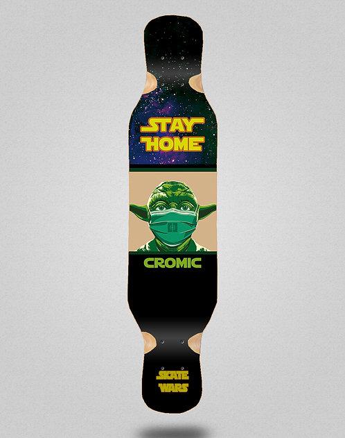 Cromic Covid Skate wars longboard deck 46x10