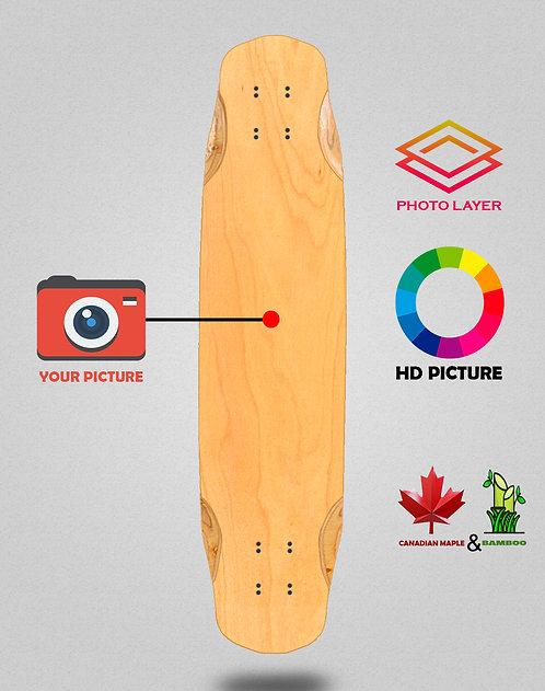 Personalizador longboard deck 38x8.45