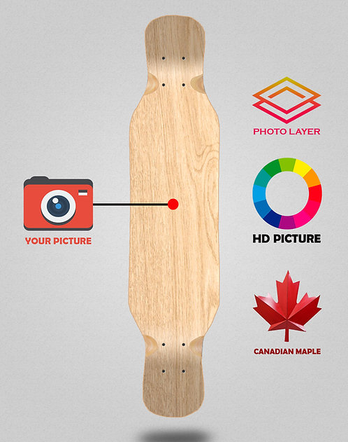 Personalizador longboard deck 46x10