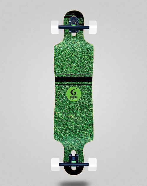 Glutier Grass new longboard complete 40x9