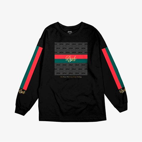 DGK tee Lux black long sleeve
