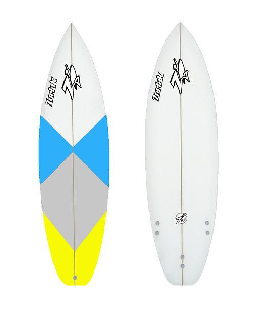 Zorlak surfboard shape 93