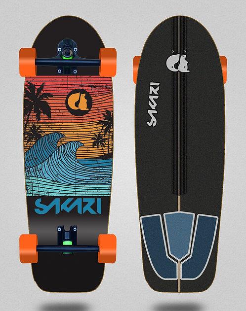 Sakari cruiser - Cali dream Sakari deck - Cali dream orange 30,5