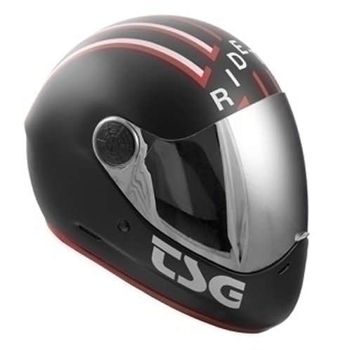 TSG Helmet casco RIDE BLACK