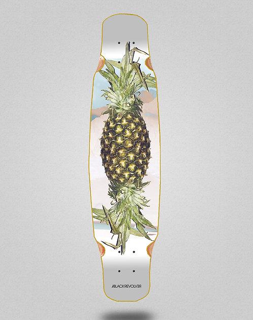 Black Revolver Rotten fruit 3 longboard deck bamboo dance 46x9