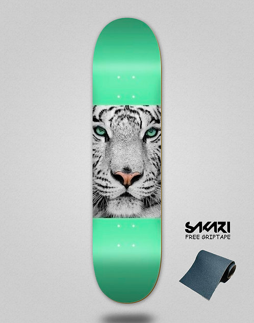 Mini logo deck Tiger eyes 8.25