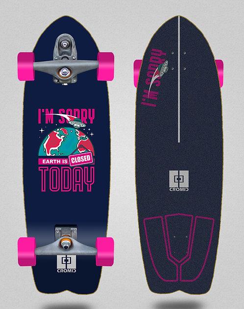 Cromic surfskate T12 trucks C19 Earth blue 29 fish