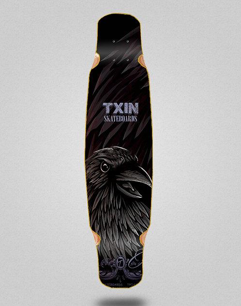 Txin Crow longboard deck dance 46x9