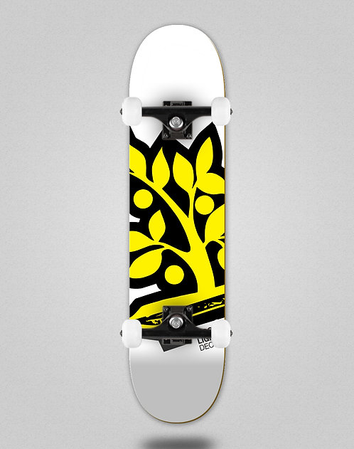 Wood light Logotipia yellow skate complete