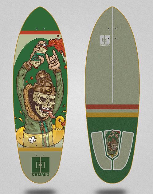 Cromic surfskate deck - Hardcore party 32.5