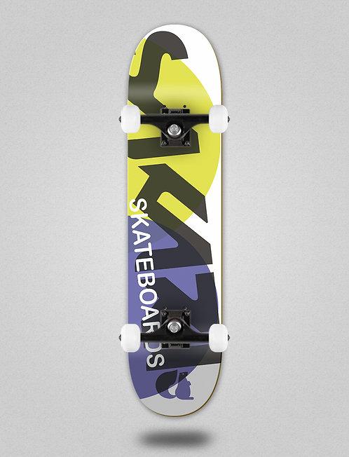 Sakari Fus yellow purple skate complete