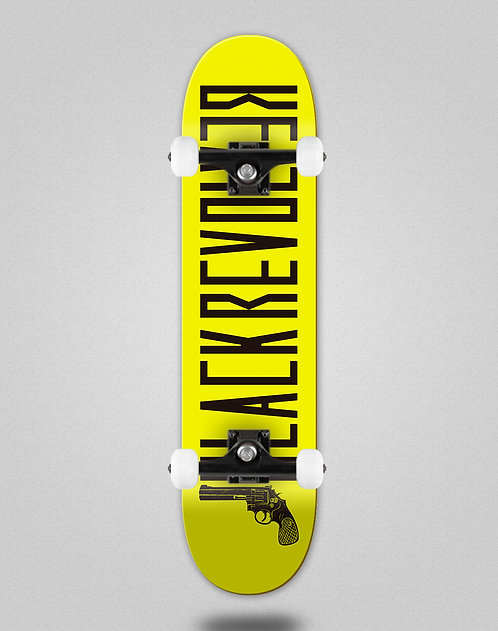 Black Revolver Color yellow black skate complete