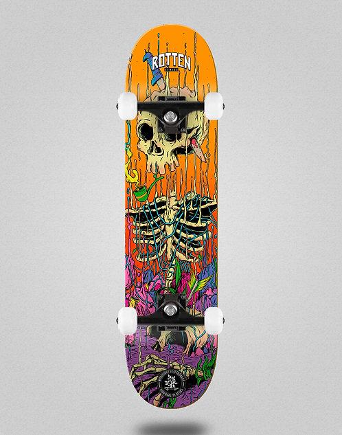 Wood light Rotten series orange skate complete