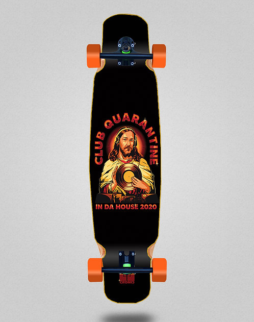 Cromic Covid In da house longboard dance complete 46x9