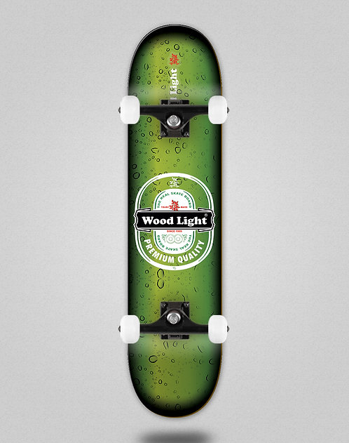 Wood light Cheers green skate complete