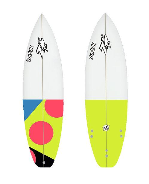 Zorlak surfboard shape 85