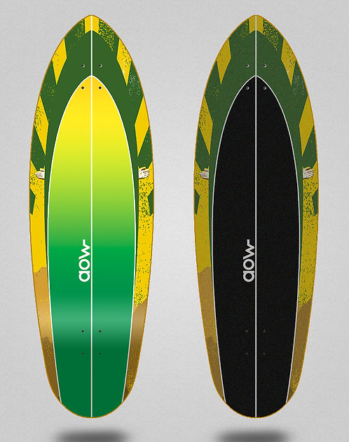 Aow surfskate deck Spc 32.5