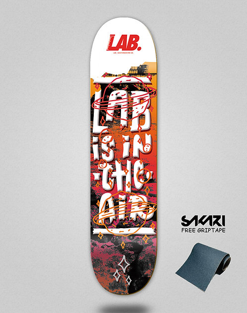 Lab skate deck Lab is in the air