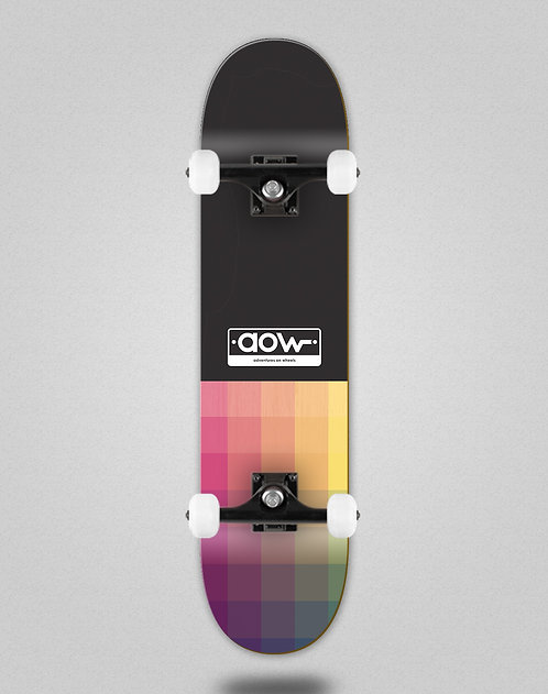 Aow Pixels black skate complete