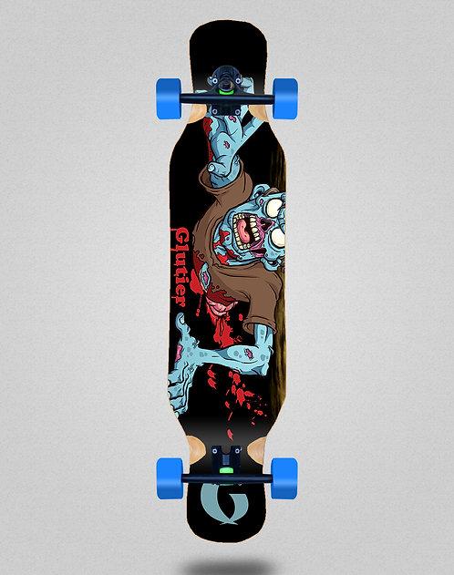 Glutier Final zombie longboard complete 46x10