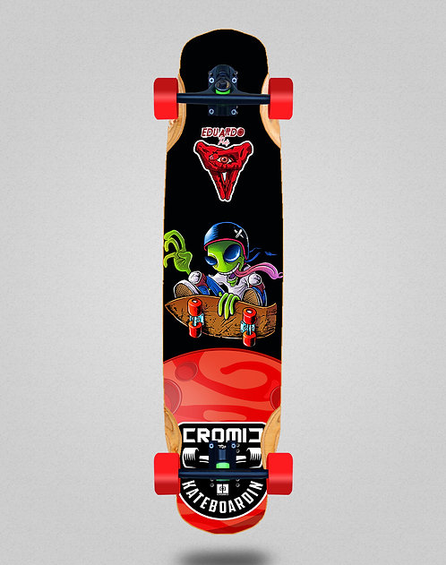Cromic Eduardo Prieto Air alien longboard complete 38x8.45