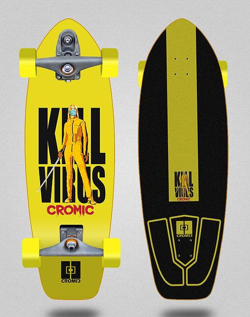 Cromic surfskate T12 trucks C19 Kill virus 31