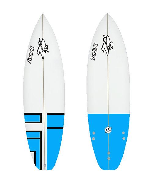 Zorlak surfboard shape 97
