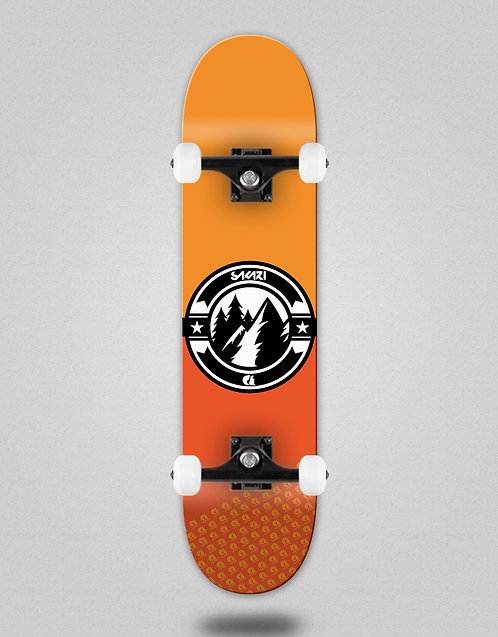 Sakari Downhill juice orange skate complete