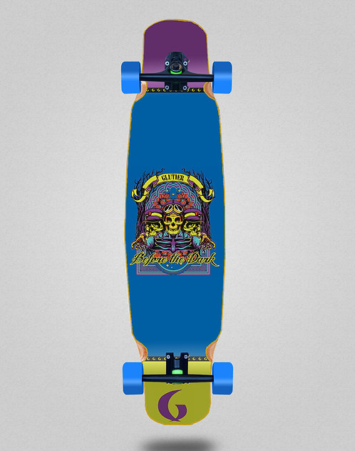 Glutier Before the dark longboard dance complete 46x9