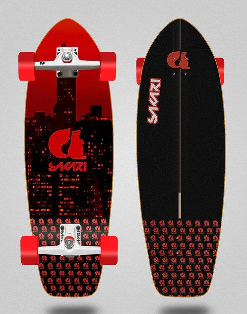 Sakari surfskate - City red 31