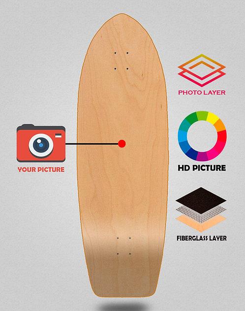 Personalizador surfskate deck 29 fish