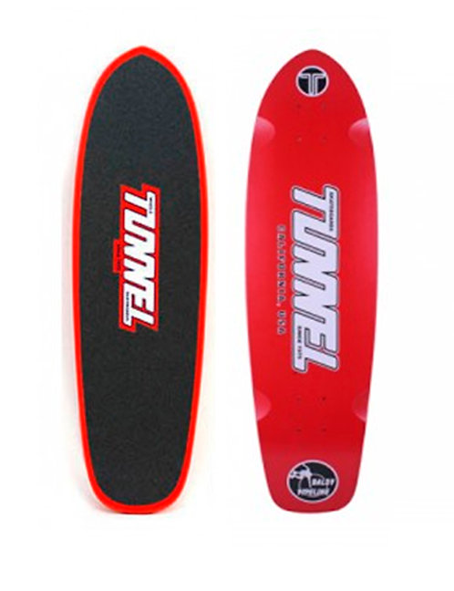 Tunnel Baldy pipeline deck red with grip