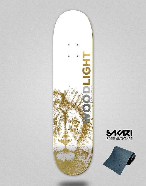 Wood light skate deck maple gold Alice