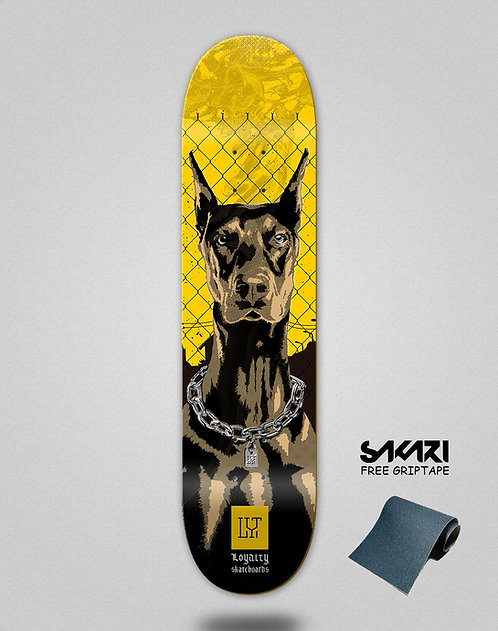 Loyalty deck Dog yellow