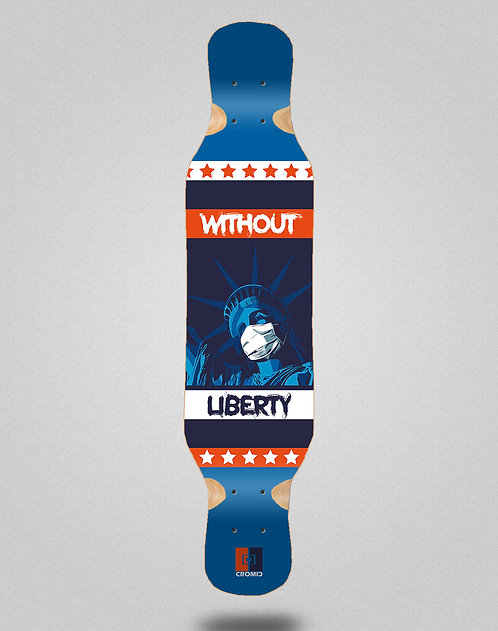Cromic Covid Without liberty longboard deck 46x10
