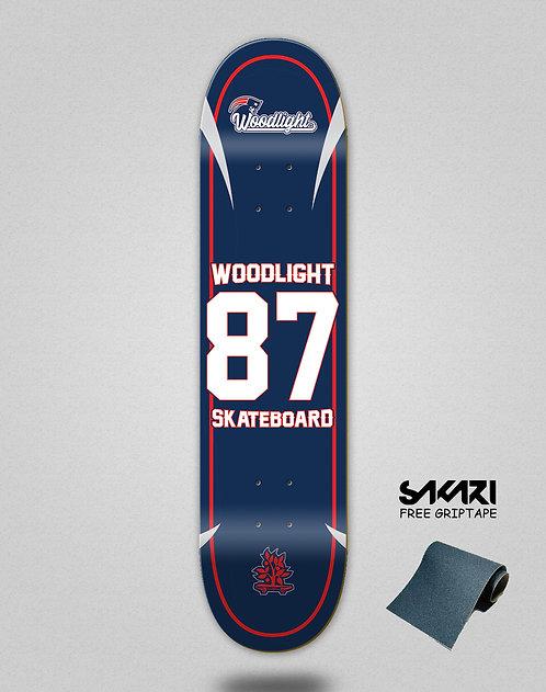 Wood light skate deck Basket 87