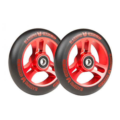 Blazer Triple XT 110mm with Abec 9 black red (set 2)