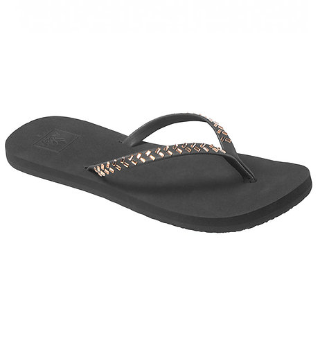 Sandalias chanclas cholas sandals Reef bliss embellish blk