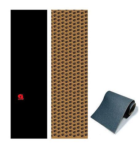 Copia de Sakari skate griptape Classic red Anti bubbles 84x23cm