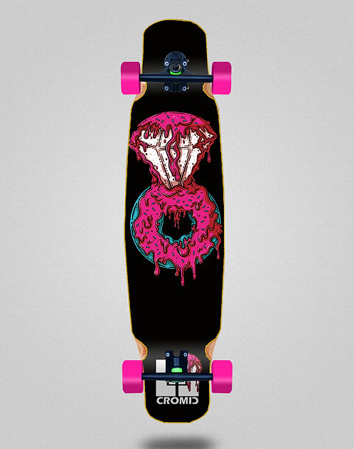Cromic Donat pink longboard dance complete mix bamboo 46x9