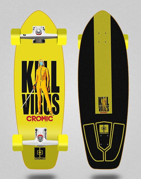 Cromic surfskate SGI Covid Kill virus 31