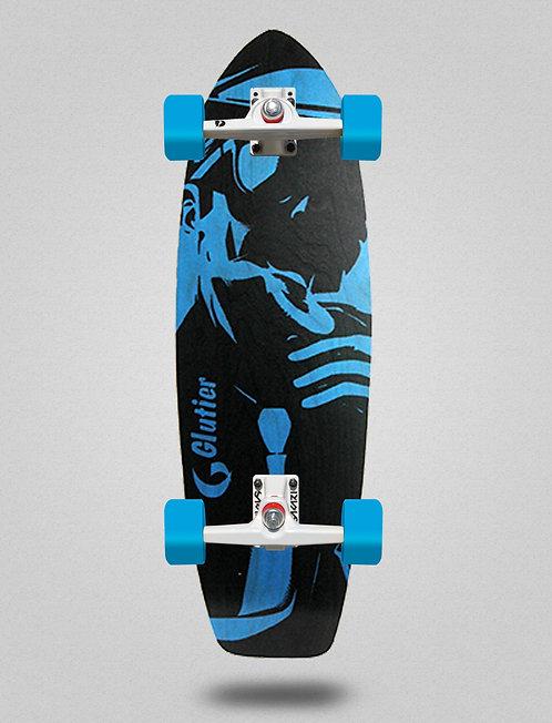 Glutier surfskate - Mafia Gansta blue 31