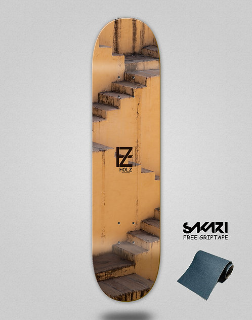 Holz Stairs Arabic skate deck