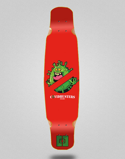 Cromic Covid Busters longboard deck dance 46x9