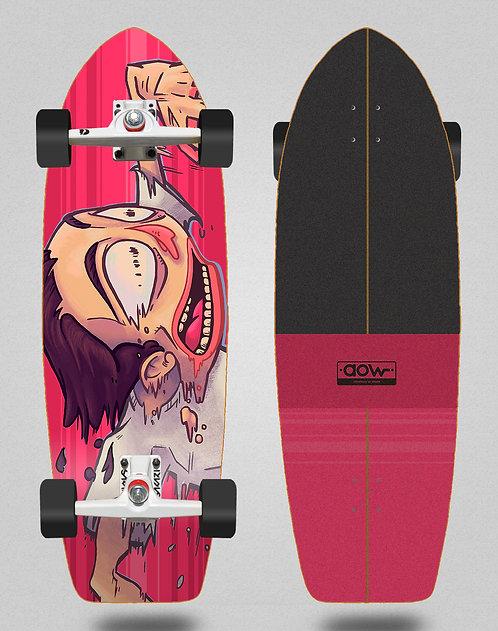 Aow surfskate SGI trucks Fastskate red 30