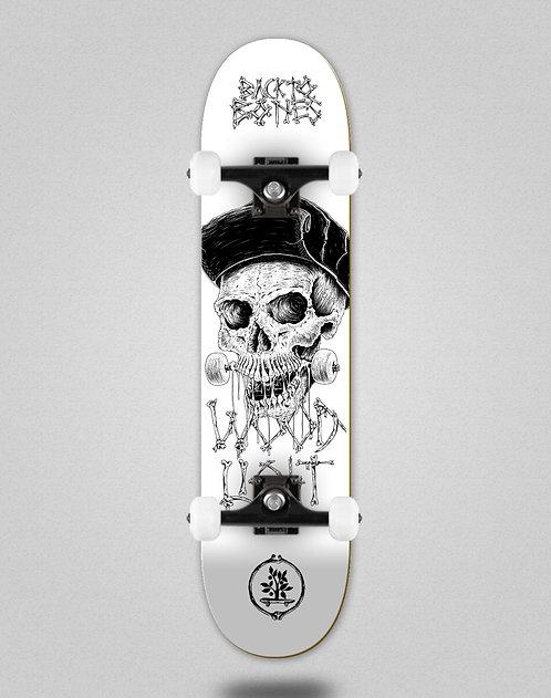 Wood light Back to bones Dias white skate complete