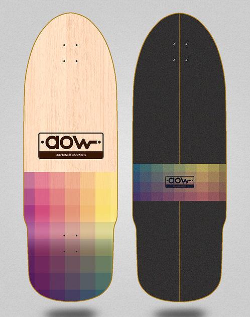 Aow surfskate deck Pixels 32