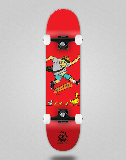 Wood light Forall red skate complete