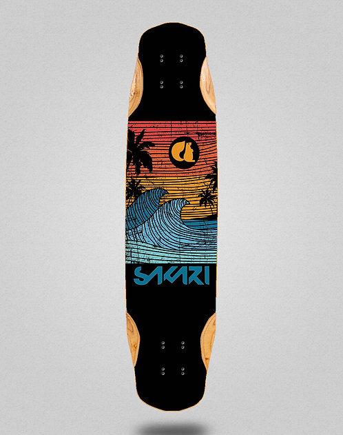 Sakari Cali dream orange longboard deck 38x8.45